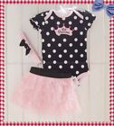 cute baby girl one piece dress + headband set outfit new size 00 0 1 2