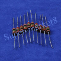 10pcs 1M ohm 1/2W Carbon Comp Composition Resistor ALLEN Style