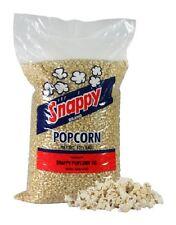 NEW 50 POUNDS SNAPPY WHITE KERNEL POPCORN 4 - 12.5 LB. BAGS/CASE *SMALLER HUSKS*