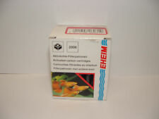 EHEIM 2625060 PICK UP 45 & 2006 ACTIVATED CARBON CARTRIDGES X 2. Aquarium