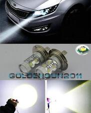 2X 50W Super Bright White Bulbs H7 LED Bulbs Fog Light Lamps Low Beam Headlight