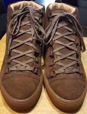 Balenciaga ankle shoes made in ITALY brown size (41-E) men 8 1/2 women 10 1/2