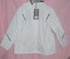 Ladies Large or Plus Size 1X Zero Xposur Women s Megan Hooded Jacket White