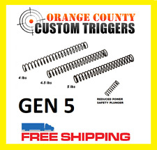 GEN 5 17 19 19X 26 34 TUNING STRIKER TRIGGER SPRINGS for GLOCK