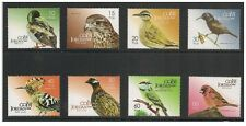 Jordan  birds 2008 complete sheets of 20 sets and 20 MS MNH