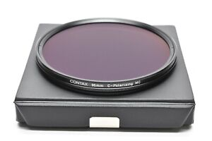 [MINT IN CASE GENUINE] CONTAX PL 95mm C-Polarizing MC Filter For Zeiss Lens