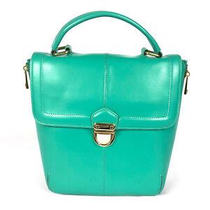 New Ladies Peppermint Green Hobo Leather Handbag