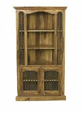 Jali Solid Sheesham Indian Rosewood Corner Unit / Solid Rosewood Display Unit