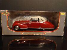 Signature 1947 Delahaye 135M Red 1:18 Scale Diecast Metal Classic Model Car