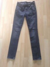 "Women's Size 28"" Waist 32"" Leg Grey Skinny Jeans From Jack Wills"