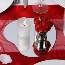 "6 pcs 10"" Heart Mirrors Wedding Party Reception Centerpieces Wholesale Supplies"