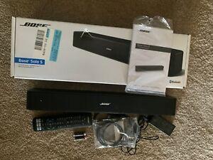 Bose 732522-1110 Solo 5 TV Sound System - Black