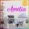 Name Wall Decal Personalized Wall Sticker Boys Girls Nursery Decor Vinyl Wall