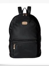 MICHAEL KORS Jet Set Item Women's MK LG Backpack Black Nylon Saffiano 38T6XTTB3C