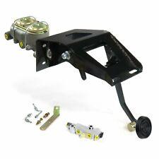 53-56 Ford Truck FW Manual Brake Pedal kit Adj Disk/Disk3in Rubber Pad street