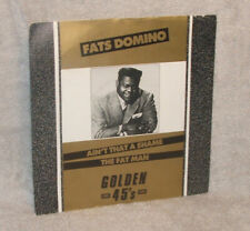 """Fats Domino - Ain't That a Shame / The Fat Man -7"""" vinyl single"""