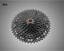 11 Speed Freewheel MTB Mountain Bike Cassette Sprocket All Black Flywheel 11-42T
