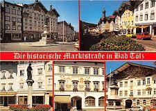 B83301 die historische marktstrasse in bad tolz  germany