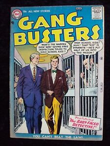 GANG BUSTERS #56 DC COMICS SILVER AGE 1957