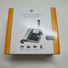 AT&T CL84102 DECT 6.0 Expandable Corded/Cordless Phone with Answering System NIB