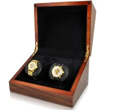 Orbita Sparta 2 Deluxe Watch Winder Rotorwind 5 year Battery Teak Wood W07012