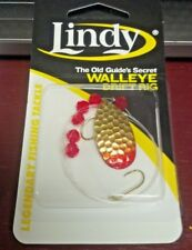 """LINDY, WALLEYE DRIFT RIG, BRASS FLAME, 36"""" HAND TIED, GS106, WORMS/MINNOWS"""