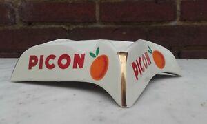 PICON - Cendrier publicitaire en porcelaine - Années 50's