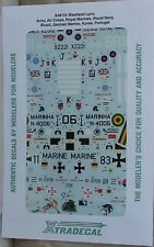 Xtradecal 1/48 X48110 Westland Lynx Pt 1  Decal Sheet