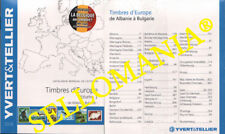EUROPA VOLUMEN I  CATALOGO YVERT & TELLIER  PAISES A - B  ULTIMA EDICION 2018