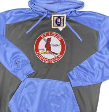 St Louis Cardinals Hoodie Sweatshirt Majestic Cooperstown Collection Men 2XL B&T