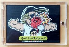 GPK SKETCH CARD: JOE Blow / ROD Wad GARBAGE PAIL KIDS (1/1) MARK MACAULAY 2017