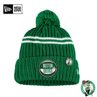 Boston Celtics New Era 2019 NBA Draft Cuffed Knit Hat - Kelly Green