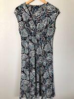 Chaps Women's Size M Medium Stretchy Sleeveless Dress (O1)