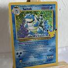 Pokemon Celebrations 25th Anniversary Turtok Blastoise Base Set 2/102 Card Mint