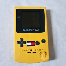 Nintendo Gameboy Color Tommy Hilfiger Edition Console Handheld Yellow 90s NES