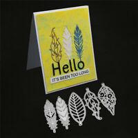 Stanzschablone Blätter Herbst Weihnachten Geburtstag Hochzeit Karte Album Deko