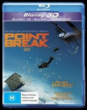 Point Break (Blu-ray, 2016) New, ExRetail Stock (D136)
