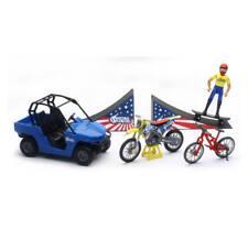 Nitro Circus Travis Pastrana Play Set Toy New Ray Toy 1:18 67685