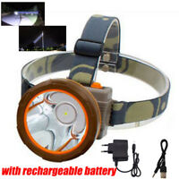 high power bright Rechargeable LED Headlamp Headlight head Lamp Torch fishing