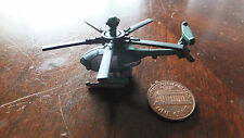 MILITARY Micro Machines 530MG 530 MG DEFENDER HELICOPTER GREEN