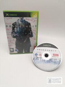 Fahrenheit • Microsoft Xbox • Disc gut • OVP mit Anleitung • getestet