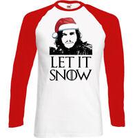 Let It Snow Christmas Edition Mens Funny Game Of Thrones T-Shirt Secret Santa