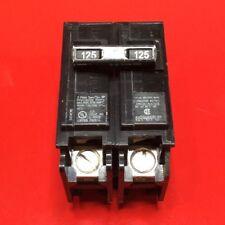 (1) Circuit Breaker Siemens Q2125 125 Amp  2 Pole 120/240v Type QP