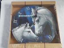 Stunning Lisa Parker Sacred Love Unicorn Picture Clock