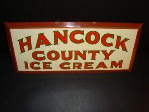 Circa 1940s Hancock County Ice Cream TOC, Ellsworth, Maine