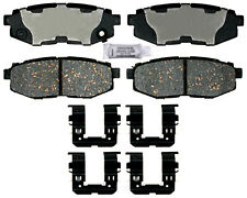 Disc Brake Pad Set-Ceramic Disc Brake Pad Rear ACDelco Pro Brakes 17D1124CHF1
