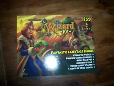new FANTASTIC FAIRY TALE BUNDLE Bundle Wizard 101 Game Card 4 Player Mount ++