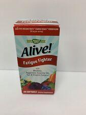 Nature's Way Alive! Fatigue Fighter 40 Softgels Exp: 01/31/2021