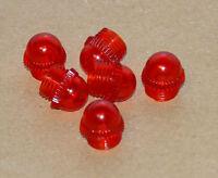 6x Kappe für Kontrollleuchte Rot für zB. Deutz 05 06 Serie oder Blinkerschalter