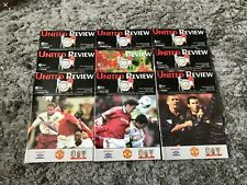More details for manchester united programmes. 1999/2000. x9.